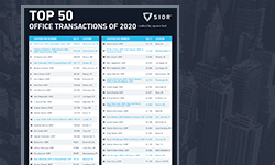 2020 Top 50 office transactions thumbnail