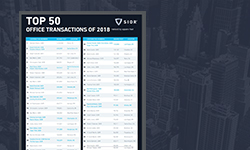 2018 Top 50 office transactions thumbnail